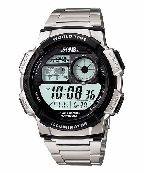 7a44510d4e9f Reloj Casio Digital Correa De Metal Caballero Sport. Con envío MRW para Bs 0